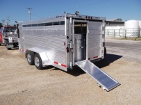 Showmaster Low Profile Small Livestock Trailers - BPLP4V 32C