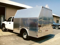 Enclosed Models Service Truck Bodies - SBE 10A