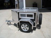 Enclosed Motorcycle Trailer Pull Behind Tote - CYCLE 30A