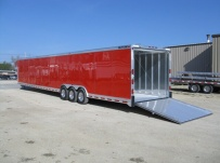 Gooseneck Automotive All Aluminum Enclosed Trailers - GNA 21C