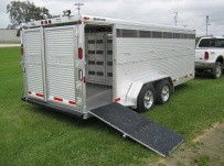 Showmaster Low Profile Small Livestock Trailers - BPLPSM 24B