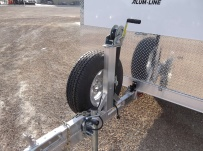 Bumper Pull Enclosed Cargo Trailers - BPDF 51A