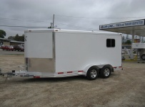 Bumper Pull Automotive All Aluminum Enclosed Trailers - BPA 48B