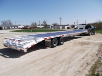 Gooseneck Heavy Equipment Flatbed Trailers - GNF 25