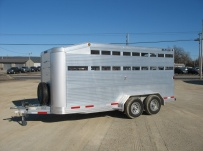Commercial Bumper Pull Livestock Trailers -  BPL 18