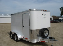 Bumper Pull Enclosed Cargo Trailers - BPDF 48A