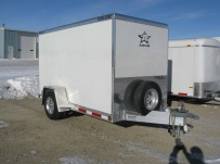 Bumper Pull Enclosed Cargo Trailers - BPDF 44