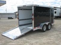 Bumper Pull Automotive All Aluminum Enclosed Trailers - BPA 28