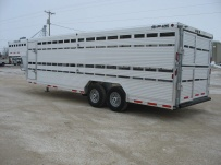 Commercial Double Deck Livestock Trailers - GNDD 39B