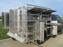 Enclosed Models Service Truck Bodies - SBE 35B