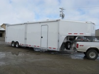 Gooseneck Enclosed Cargo Trailers - GNDF 37B