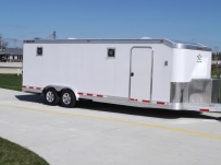 Bumper Pull Automotive All Aluminum Enclosed Trailers - BPA 55A