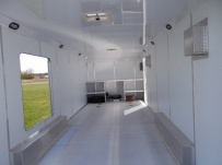 Bumper Pull Automotive All Aluminum Enclosed Trailers - BPA 55B