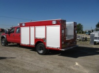 Rescue Body Aluminum Truck Bodies - RFB 45