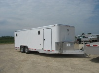 Bumper Pull Automotive All Aluminum Enclosed Trailers - BPA 32A
