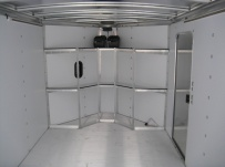 Bumper Pull Automotive All Aluminum Enclosed Trailers - BPA 49B