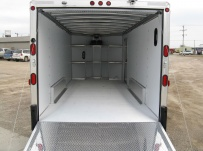 Bumper Pull Automotive All Aluminum Enclosed Trailers - BPA 49C