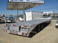 All Aluminum Gooseneck Flatbed Hotshot Trailers - GNF 57A