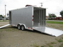 Bumper Pull Automotive All Aluminum Enclosed Trailers - BPA 44A