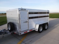 Dual Line Small Livestock Trailers - DL 20B