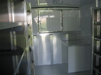 Gooseneck Enclosed Cargo Trailers - GNDF 35