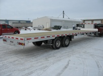 All Aluminum Gooseneck Flatbed Hotshot Trailers - GNF 32A