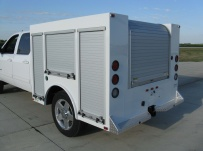 Enclosed Models Service Truck Bodies - SBE 34C