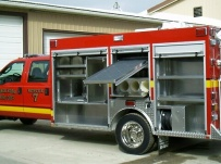 Rescue Body Aluminum Truck Bodies - RFB 34A