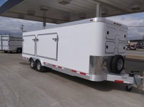 Bumper Pull Enclosed Cargo Trailers - BPDF 56