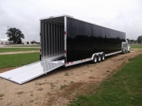 Gooseneck Automotive All Aluminum Enclosed Trailers - GNA 31A