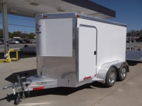 Bumper Pull Automotive All Aluminum Enclosed Trailers - BPA 54B