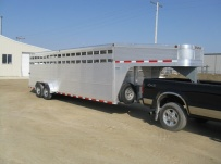 Commercial Gooseneck Livestock Trailers - GNL 49A
