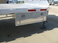 Gooseneck Heavy Equipment Flatbed Trailers - GNF 68B