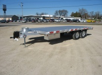 Bumper Pull Heavy Equipment Flatbed Trailers - BPF 24A