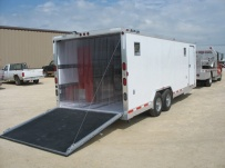 Bumper Pull Automotive All Aluminum Enclosed Trailers - BPA 32B