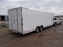Gooseneck Enclosed Cargo Trailers - GNDF 40A