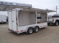 Bumper Pull Enclosed Cargo Trailers - BPDF 68