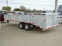 Bumper Pull Heavy Equipment Flatbed Trailers - BPF 5A