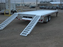 Bumper Pull Heavy Equipment Flatbed Trailers - BPF 27A