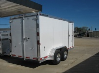 Bumper Pull Enclosed Cargo Trailers - BPDF 60B