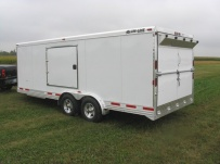 Bumper Pull Automotive All Aluminum Enclosed Trailers - BPA 37C