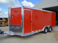Bumper Pull Automotive All Aluminum Enclosed Trailers - BPA 78A