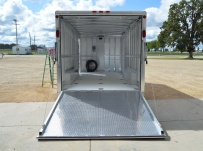 Bumper Pull Automotive All Aluminum Enclosed Trailers - BPA 78C