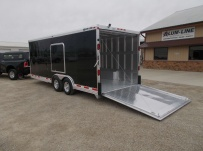 Bumper Pull Automotive All Aluminum Enclosed Trailers - BPA 80C
