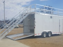 Bumper Pull Automotive All Aluminum Enclosed Trailers - BPA 82B