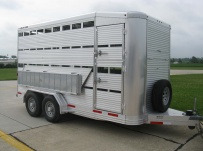 Commercial Double Deck Livestock Trailers - BPDD 2C