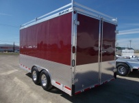 Bumper Pull Enclosed Cargo Trailers - BPDF 91A