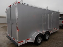 Bumper Pull Enclosed Cargo Trailers - BPDF 93A