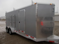 Bumper Pull Enclosed Cargo Trailers - BPDF 93B