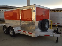 Bumper Pull Enclosed Cargo Trailers - BPDF 94